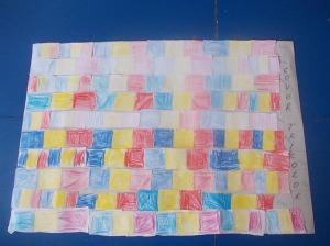 covorul tricolor